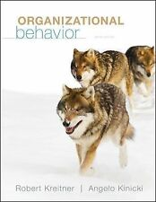 Organizational Behavior by Robert Kreitner Hardcover Book 10th Edition
