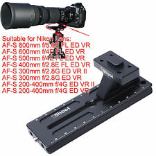 Tripod Mount Ring Stand Quick Release Plate for Nikon AF-S 400mm f/2.8E FL ED VR