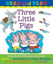 WEATHERILL SUE-READ & PLAY: THREE LITTLE PIGS  BOOK NEW