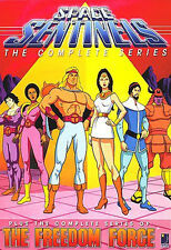 Space Sentinels/The Freedom Force - The Complete Series (DVD, 2-Disc Set) - NEW!