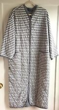 Vintage Marimekko Finland Striped Blanket Robe Coat size L-XL