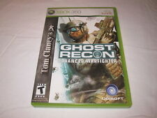 Tom Clancy's Ghost Recon: Advanced Warfighter (Microsoft Xbox 360) Complete Exc!