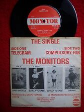 "MONITORS  telegram 7""  DIY-LONDON-POWERPOP 1979 rivals/protex/clash/sex pistols"