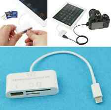 3 in 1 USB Camera Connection Kit U-disk/SD/TF Card Reader For iPad 4 ipad Mini