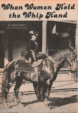 Belle Starr - Side-Saddle Queen Who Held The Whip Hand