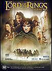 THE LORD OF THE RINGS THE FELLOWSHIP OF THE RING DVD 2 Disc FANTASY (SEALED)*R4