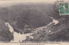 SAINT-MARIEN 147 confluent du cher & de la tardes près de MONTLUCON timbrée 1913