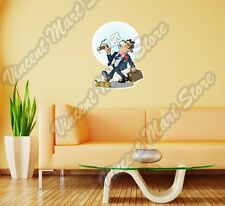 "Confident Business Man Banana Peel Gift Wall Sticker Room Interior Decor 22""X22"""