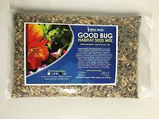 Good Bug Habitat Seed Mix 1 lb - Beneficial Bug Attractant
