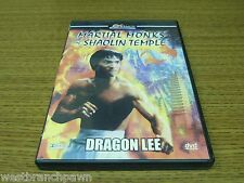Martial Monks Of Shaolin Temple DVD Dragon Lee RARE OOP B#1