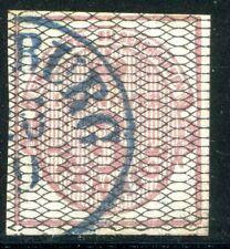 HANNOVER 1856 8a gestempelt TADELLOS signiert PFENNIGER 350€(Z2756