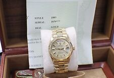 VINTAGE ROLEX PRESIDENT 1803 18K YELLOW GOLD 1966