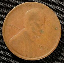 1911 Philadelphia Mint Lincoln Wheat Penny Cent