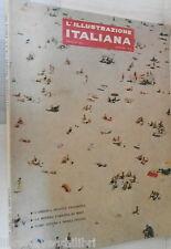 L ILLUSTRAZIONE ITALIANA 1962 Aristocrazia Ceramica di Vietri Salerno Miro di e