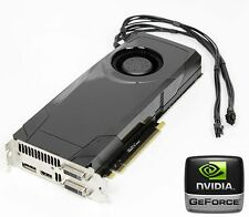 Apple Mac Pro nVidia GTX680 2GB Graphics Video Card Dual DVI CUDA 2008-2012