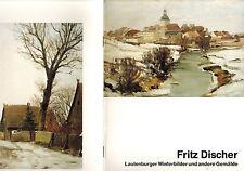 Fritz Atsinkanos, hiver-images lautenburg KR strasburg prusse ua peintures,'91