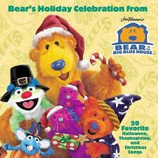 Bear's Holiday Celebration 2002 by Bear in the Big Blue House - Ex-library