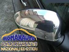 * COPPIA CALOTTE Cromate Lucide FIAT BRAVO 2007 in poi (Specchio Retrovisore)