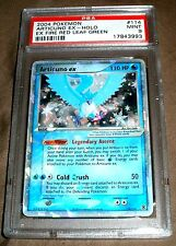 POKEMON ARTICUNO HOLO EX FIRE RED LEAF GREEN 111 PSA 9