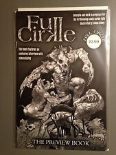 FULL CIRKLE PREVIEW BOOK SIGNED BY SIMON BISLEY! VHTF ONLY 999 MADE!