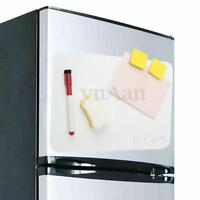 A4 Flexible Fridge Magnetic Whiteboard Memo Notice Board+Eraser+Pen+Sticker Kits