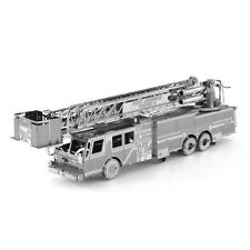 Fascinations Metal Earth Works 3D Laser Cut Model Kit FIRE ENGINE TRUCK MMS115