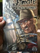 signed (A NIGHTMARE ON ELM STREET #1)by Brian Pulido Avatar And #8, Wildstorm