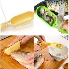 Cuisine Outil pratiqué Dépouiller Ecaille de poissons nettoyeur jaune