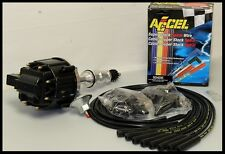 FORD 351C CLEVELAND 429 460  HEI DISTRIBUTOR & ACCEL WIRES 6506-BK+5040-K-KIT