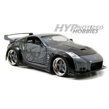 JADA 1:24 FAST AND FURIOUS  D.K's  NISSAN 350Z  DIE-CAST GRAY N/B