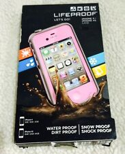 GENUINE LifeProof iPhone 4/4s Case - Pink/Grey