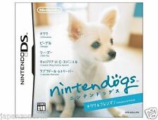 Used DS Nintendogs - Chihuahua & Friends  NINTENDO JAPANESE IMPORT