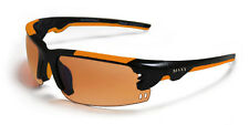 Mens Maxx HD Sunglasses black orange womens fishing driving golf wizard