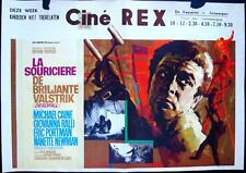 DEADFALL Belgian movie poster MICHAEL CAINE GIOVANNA RALLI 1968 RAY ELSEVIERS