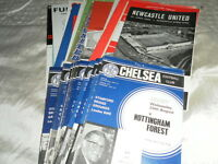 CHELSEA HOME AND AWAY PROGRAMMES FROM 1966/7 - SELECT FROM LIST