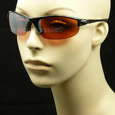 HD HIGH DEFINITION SUN GLASSES DRIVE VISION BLUE RAY BLOCKER LENS GOLF NEW 31