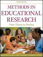 Methods in Educational Research: From Theory to Practice (Research Methods for t