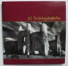 ☪✝★ U2 THE UNFORGETTABLE FIRE CD Single CARD SLEEVE PROMO