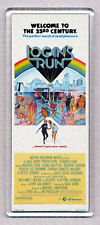 LOGAN'S RUN  movie poster large fridge magnet - COOL !