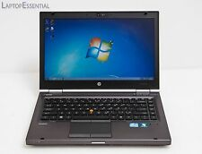 "HP EliteBook 8460w 14"" Quad Core i7-2630QM 2/8/320GB 1600x900 ATI Gaming Laptop"