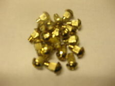 GOLD PLATED PLASTIC WHEEL RIVETS, CUSTOM WHEEL FREE SHIPPING! 150 pcs. $50