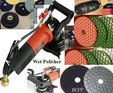 Wet Polisher Diamond Polishing Pad 5.5mm Thick Damo Buff Concrete Stone Granite