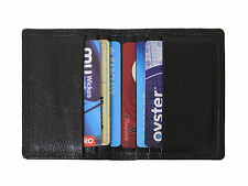 MEN'S LUXURY sottile di qualità in Pelle Business ID / titolare carta di credito Card Case