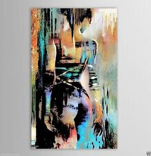 CANVAS OIL PAINTING MODERN ABSTRACT WALL DECOR ART Nude Girl  24x36(NO FRAME)