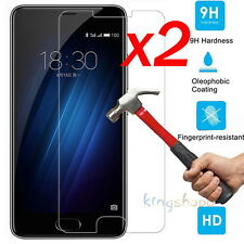 2Pcs 9H Premium Tempered Glass Film Screen Protector For MeiZu M3 / M3s 5.0""