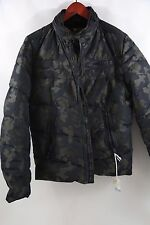 DIESEL Green Camo Whansel Down Jacket Size M  RETAIL $485