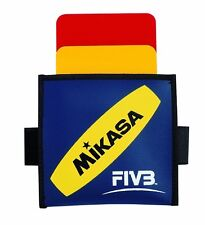 Mikasa FIVB Volleyball Referee Cards Yellow Red Judge Japan F/S