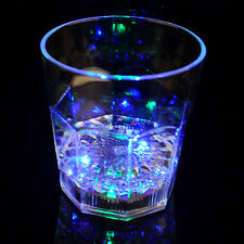 Water Liquid Activated Glass Flashing Light-up Wine Glass Cup Mug Party