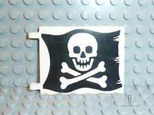 LEGO ® Pirati Accessori 1x grande bandiera 2525p01 PIRATA/TESCHIO da 6285 r545