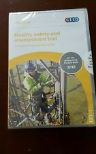 CSCS Health, safety and environment test 2016 Dvd new